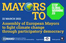 Mayors to StopglobalWarming.eu - climate change and participatory democracy