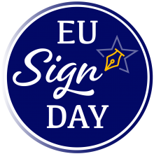 european citizens sign day