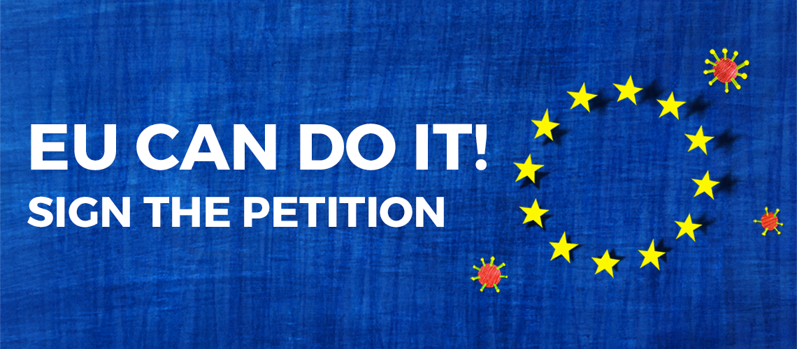 COVID-19: PETITION TO THE EUROPEAN PARLIAMENT