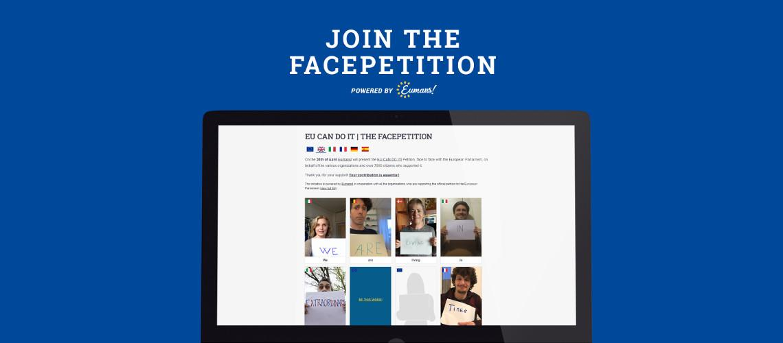 JOIN THE FACEPETITION